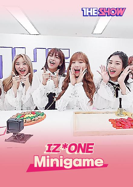 IZ*ONE - THE SHOW Mini Game