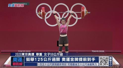 體壇最前線 7/27:首金出爐!郭婞淳三破奧運紅了眼眶(更多...)
